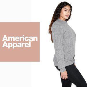 American Apparel Cotton Crewneck Sweater - Small